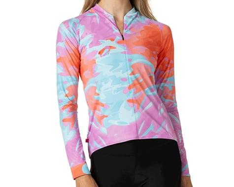 Terry Women's Soleil Long Sleeve Jersey (Tie Dye) (XL)