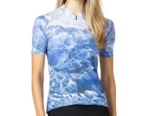 Terry Women's Soleil Short Sleeve Jersey (Nivolet/Blue) (M)