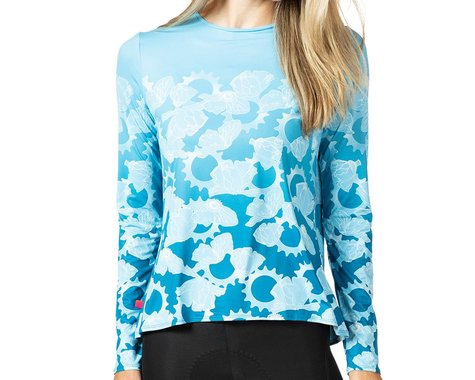 Terry Women's Soleil Flow Long Sleeve Cycling Top (Gear Ratios) (L)