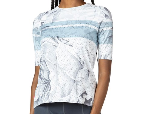 Terry Women's Soleil Flow Short Sleeve Cycling Top (Blanche) (L)