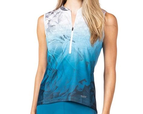Terry Women's Breakaway Mesh Sleeveless Jersey (Into The Blue) (L)