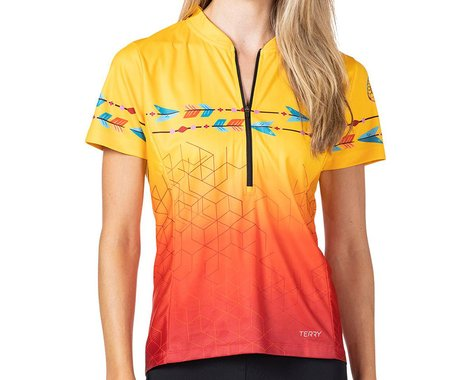 Terry Women's Breakaway Mesh Short Sleeve Jersey (Dream Chaser) (L)