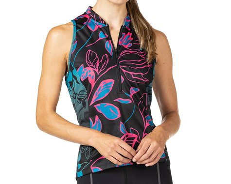 Terry Women's Sun Goddess Sleeveless Jersey (Noir) (S)