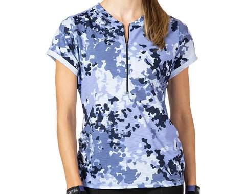 Terry Women's Wayfarer Short Sleeve Jersey (Wisteria) (M)