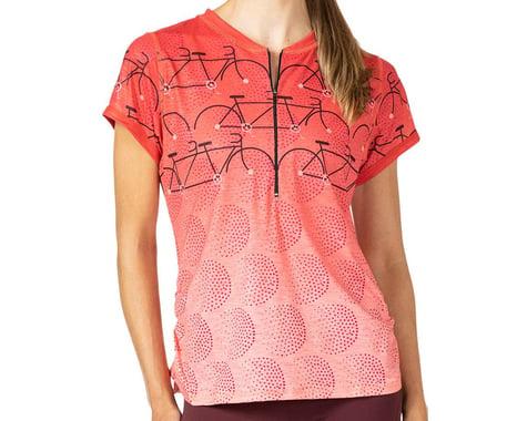 Terry Women's Wayfarer Short Sleeve Jersey (Gruppo Rouge) (M)