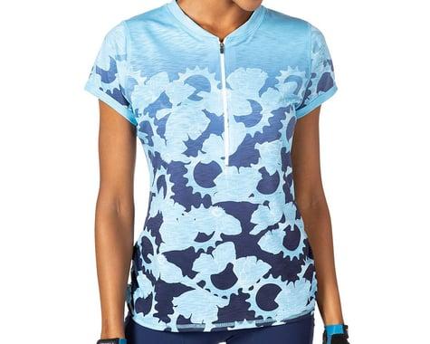 Terry Women's Wayfarer Short Sleeve Jersey (Gear Ratios) (L)