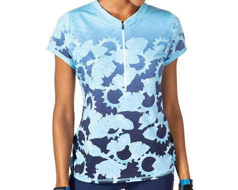 Terry Women's Wayfarer Short Sleeve Jersey (Gear Ratios) (XL)