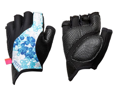 Terry Women's Bella Gloves (Hydrange/White)