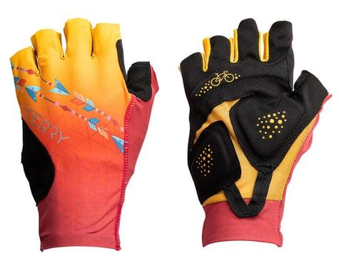 Terry Women's Soleil UPF 50+ Short Finger Gloves (Dream Chaser) (L)
