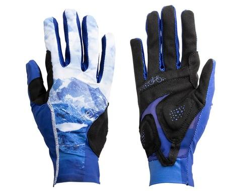 Terry Women's Soleil UPF 50+ Full Finger Gloves (Nivolet/Blue) (XL)