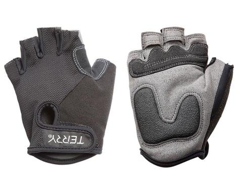 Terry Women's T-Gloves (Black Mesh) (L)