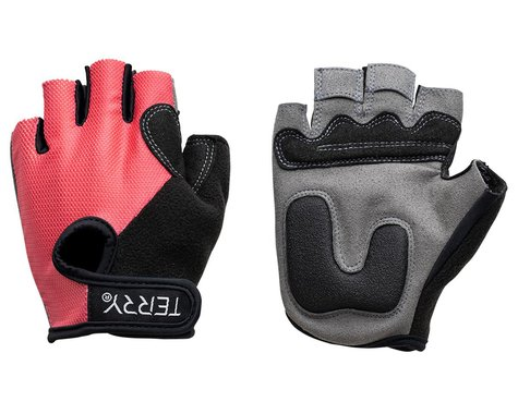 Terry Women's T-Gloves (Rouge Mesh) (L)