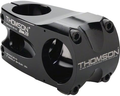 "Thomson Elite X4 Mountain Stem (Black) (+/- 0°) (31.8mm) (1-1/8"" Threadless) (60mm)"