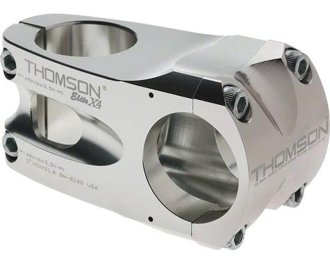 "Thomson Elite X4 Mountain Stem (Silver) (+/- 0°) (31.8mm) (1-1/8"" Threadless) (60mm)"