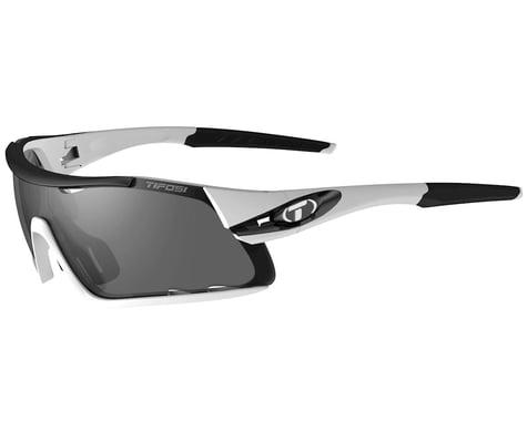 Tifosi Davos (White/Black) (Smoke, AC Red & Clear Lenses)
