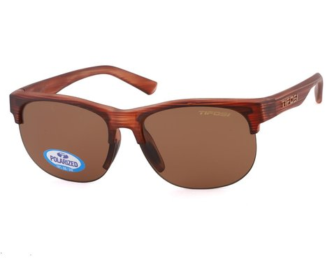 Tifosi Swank SL Sunglasses (Woodgrain) (Brown Polarized)