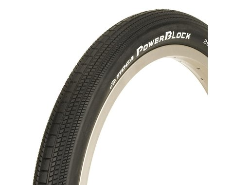 Tioga PowerBlock BMX Tire (24 x 1.75) (Black)
