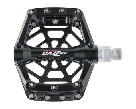 """Tioga DAZZ MX Aluminum Pedals (Black) (9/16"""")"""