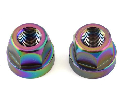 """TNT Hub Axle Nuts (Jet Fuel) (2) (3/8"""")"""