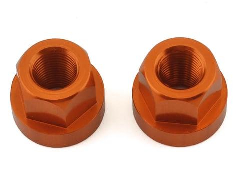 """TNT Hub Axle Nuts (Orange) (2) (3/8"""")"""