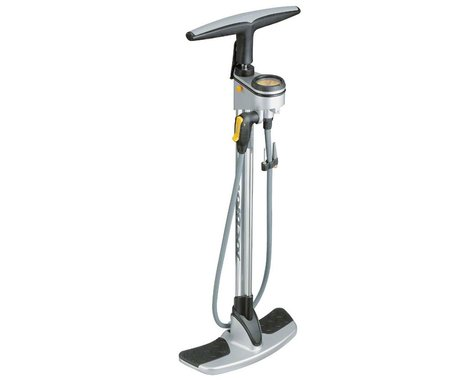 Topeak Joe Blow Pro Floor Bike Pump (Chrome)