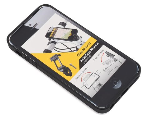 Topeak RideCase w/ RideCase Mount (Black) (For iPhone 5)