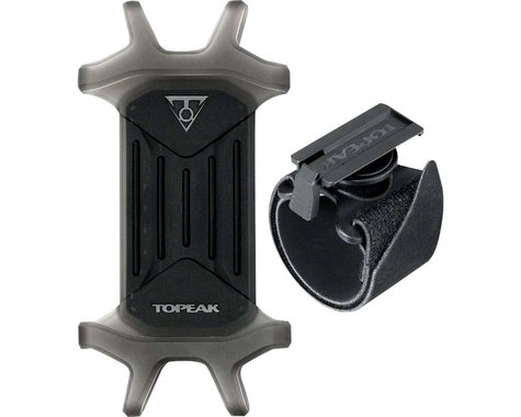 "Topeak Omni RideCase & Mount (Black) (For 4.5"" to 5.5"" Phones)"