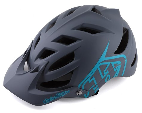 Troy Lee Designs A1 Helmet (Drone Grey/Blue) (XL/XXL)