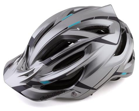 Troy Lee Designs A2 MIPS Helmet (Silver/Burgundy) (XL/XXL)