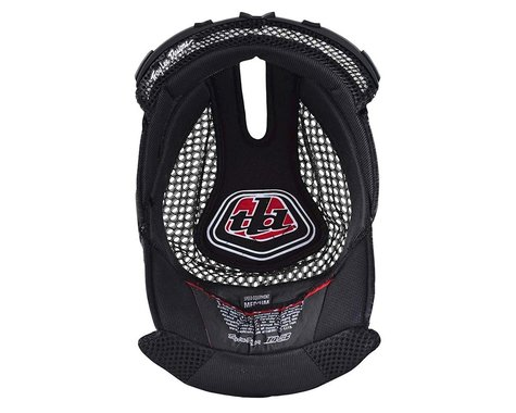 Troy Lee Designs D3 Helmet Headliner (Black) (2XL)