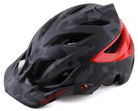 Troy Lee Designs A3 MIPS Helmet (Camo Grey/Red) (XS/S)