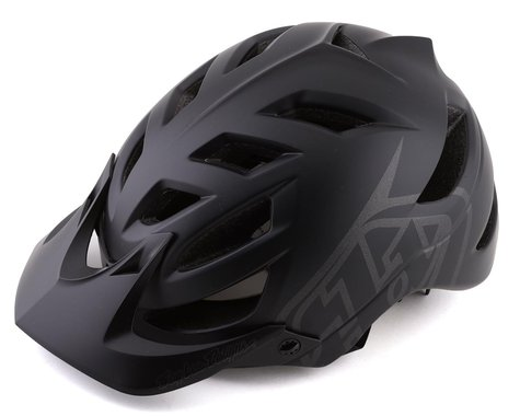 Troy Lee Designs A1 MIPS Youth Helmet (Classic Black) (Universal Youth)