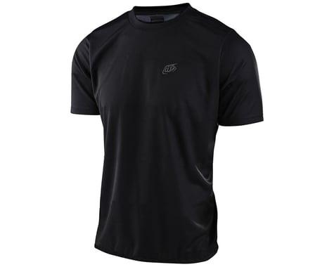 Troy Lee Designs Flowline Short Sleeve Jersey (Black) (M)