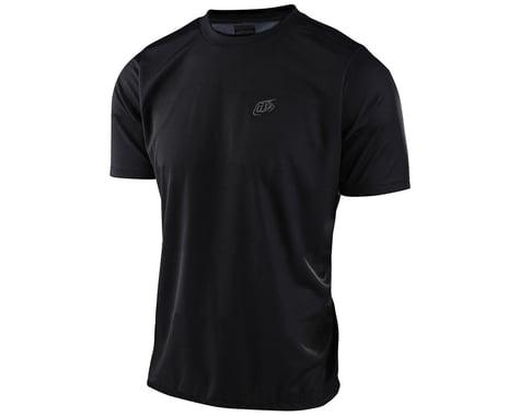 Troy Lee Designs Flowline Short Sleeve Jersey (Black) (2XL)