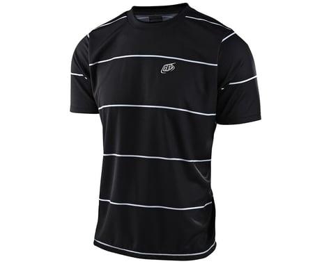 Troy Lee Designs Flowline Short Sleeve Jersey (Stacked Black) (XL)