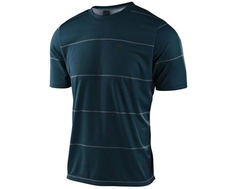 Troy Lee Designs Flowline Short Sleeve Jersey (Stacked Light Marine) (XL)