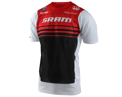 Troy Lee Designs Skyline Air Short Sleeve Jersey (Formula SRAM Red/White) (2XL)