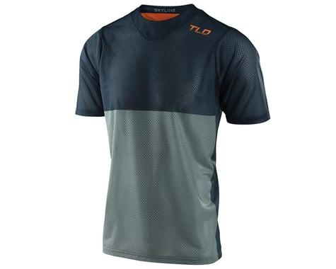 Troy Lee Designs Skyline Air Short Sleeve Jersey (Breaks Marine) (XL)