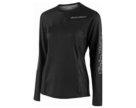 Troy Lee Designs Women's Skyline Long Sleeve Jersey (Black) (L)