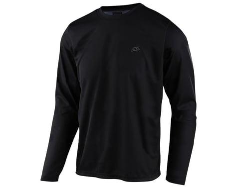 Troy Lee Designs Flowline Long Sleeve Jersey (Black) (XL)