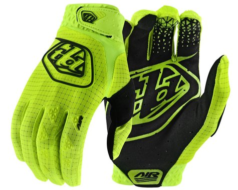 Troy Lee Designs Air Gloves (Flo Yellow) (L)