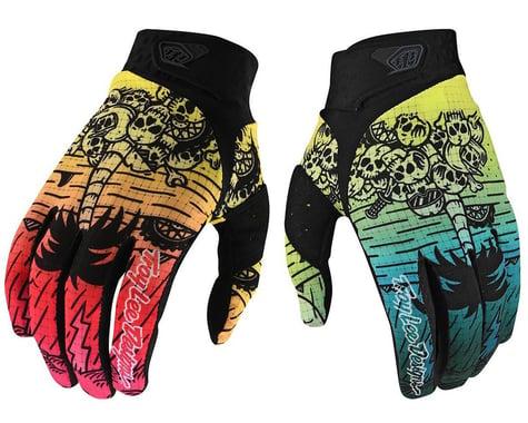 Troy Lee Designs Air Gloves (Boneyard Green/Pink) (2XL)