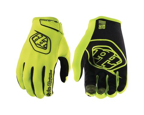 Troy Lee Designs Air Glove (Flo Yellow) (Youth XL)