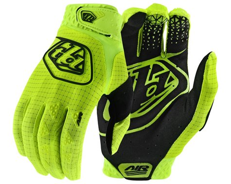 Troy Lee Designs Youth Air Gloves (Flo Yellow) (Youth M)