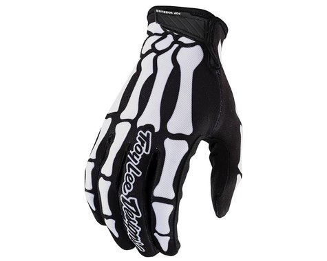 Troy Lee Designs Air Gloves (Skully Black) (XL)