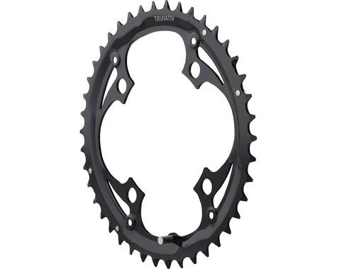 Truvativ Trushift Steel Chainring (Black) (104mm BCD) (Offset N/A) (42T)