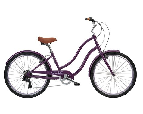 Tuesday March 7 Women's Cruiser Bike (Vintage Eggplant)