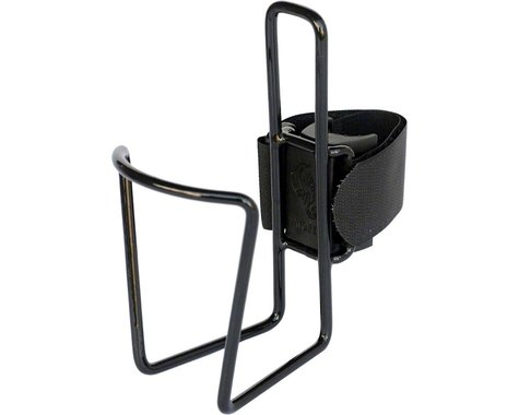 Two Fish QuickCage 24oz Bottle Cage (Vinyl Coated Black)