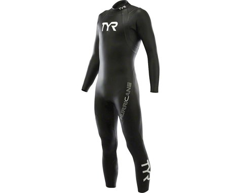 Tyr Hurricane Cat 1 Sleeveless Wetsuit: Black/White LG