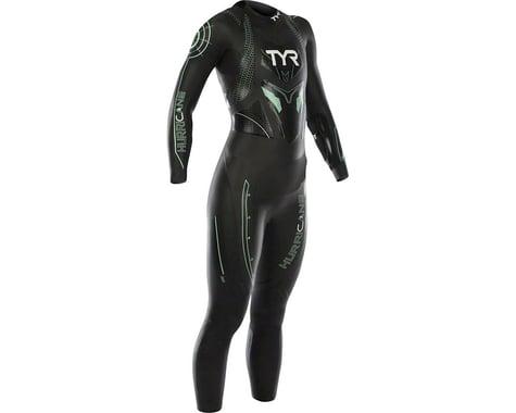 Tyr Women's Hurricane Cat 3 Wetsuit: Black/Seafoam MD
